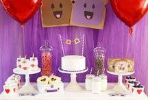 Valentine's Day Party Ideas // Michelle's Party Plan-It / Valentine's Day Party Ideas for all ages