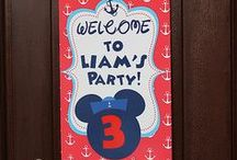 Nautical Mickey Mouse Party Ideas // Michelle's Party Plan-It