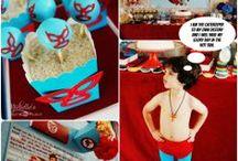 Nacho Libre Party Ideas // Michelle's Party Plan-It / Fiesta ideas for Nacho Libre Fans