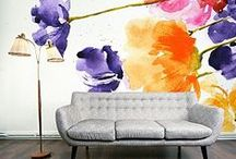 Flowers / Florals have always been a popular pattern so bring the outdoors in!