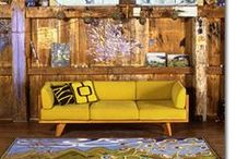 Yellow / Yellow is a fresh vibrant colour that can also be extremely stylish both in fashion and interior design.