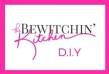 Bewitchin' DIY / DIY crafts, home project, home decor, family crafts, and other do it yourself projects found on The Bewitchin' Kitchen.  / by Randa @ The Bewitchin' Kitchen | Recipes, Family, Health |