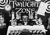 Twilight Zone Party Ideas // Michelle's Party Plan-It / Party ideas inspired by the Twilight Zone series and movies.