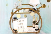 New Year's Eve Party Ideas // Michelle's Party Plan-It / Party ideas and inspiration for a New Year's Eve Party