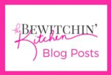The Bewitchin' Kitchen / All things you can find on The Bewitchin' Kitchen:  Recipes (including healthy recipes, paleo recipes and induglent recipes), DIY, Crafts, Family, Health, Nutrition, Fitness, Travel and more! / by Randa @ The Bewitchin' Kitchen | Recipes, Family, Health |