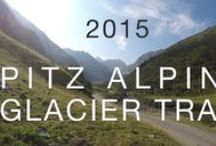 Pitz Alpine Glacier Trail / Trail Running Event auf höchstem Niveau in den Pitztaler Alpen vom 24.-26. Juli 2015 mit fünf Distanzen: P100, P42, P26, P15, Kids Trail
