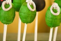 Army Party Ideas // Michelle's Party Plan-It / Army party ideas, crafts and recipes. Perfect for birthday parties!