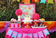 Fiesta Ideas // Michelle's Party Plan-It / Celebrate any occasion with a Fiesta party. Fiesta Crafts, Fiesta recipes and more!