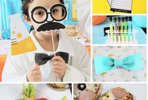 Science Birthday Party Ideas // Michelle's Party Plan-It / Science party ideas and inspiration for the science lover!