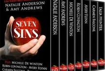 Sleeping with the Enemy - A Seven Sins novella (wrath) / Part of the Seven Sins anthology - releasing October 19, 2015 / by Robin Covington