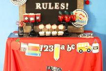 Back To a School Ideas // Michelle's Party Plan-It / Back to school party and craft ideas.