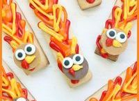 Thanksgiving Party Ideas // Michelle's Party Plan-It / Thanksgiving Ideas, crafts and recipes and projects for family celebrations