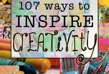 Building Creativity / Projects or activities to help myself and students build creative muscles.
