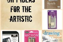 Gift ideas for the creative / Gift ideas... Christmas gifts, birthday gifts... Ideas for gifts for the artistic.