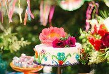 Fiesta Bridal Shower // Michelle's Party Plan-It / Fiesta inspired Bridal Shower Ideas
