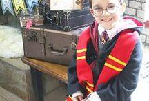 Harry Potter Party Ideas // Michelle's Party Plan-It / Harry Potter party ideas for the biggest Harry Potter fans! Decor, activities, treats, cakes and more! Harry Potter Birthday and Halloween Party ideas too!