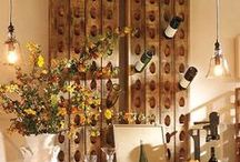 Wine Storage Solutions / Wine often gets better with age. Great How-To's for storing wine. Wine cellars, etc.