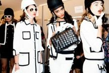 Black | White / Black and white outfits