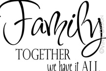 Family / by Peggy Thompson