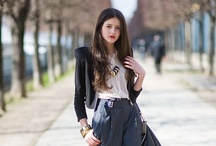 Street Style in Paris / by Katie