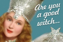 Witchy Woman / My Grammie always said she was a witch.  A good witch, of course!  Growing up with her, The Wizard of Oz, and Bewitched gave me a love of witches!  Good witches, of course!  ;-)