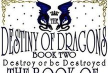 """DOD2: Book of Resurrection / THE DESTINY OF DRAGONS is a multi-headed Hydra of an epic fantasy series set in the mythical Empire of Ay. The Book of Resurrection is the second of 9 books. #Angels #Arachnids #Dragons #Dwarves #Gargoyles #Giants #Gods #Imps #Magic #Mermaids #Pirates #Spirits #Warlocks #Witches #Werewolves #epic #fantasy #series  Disclaimer: These are just """"PINS"""". I don't claim copyright or ownership of content that doesn't directly relate to The Destiny of Dragons. / by Billie-Jo Williams"""