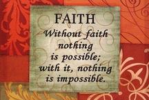 Faith / by Peggy Thompson