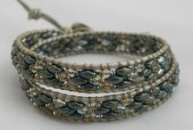 My creations-Wrapped / tutti i miei braccialetti wrapped
