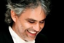 Andrea Bocelli / The music and the amazing man who sings it. What a God given tallent he has. I enjoy every breath of his beautiful voice.  / by Peggy Thompson