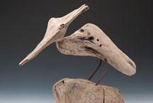 sculptures / little sculptures,pottery,paper mache,clay or chalck