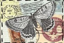 Mail Art / Traveling works of art.