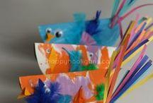 Kiddie Crafts / Teaching little ones the joy of crafting.