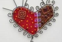 Hearts / Love hearts.