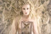 Kirsty Mitchell / Following the death of her beloved mother in 2008, Kirsty Mitchell spent years crafting beautiful photographs as an emotional tribute, shot in the Surrey countryside where she now lives.  http://kirstymitchellphotography.com/