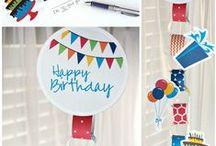 Birthday party / by Kaila