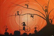 Painting Ideas - Halloween
