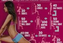 Workout / No pain, No gain!  / by Lucia Barros