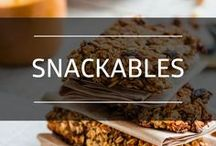Snackables / Healthy snacks to get you through the day!