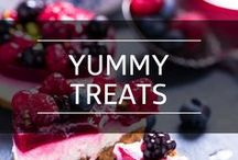Yummy Treats / Desserts and sweets that won't make you feel guilty.