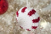 Crochet_Christmas / Fun stuff to crochet for tree or packages.