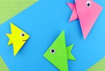 Book and paper crafts for kids