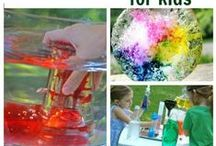 Mixing and making - science for kids