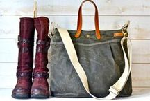 for carrying all the things / Because I love purses and vintage suitcases and tote bags and zippered pouches.