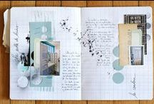 the art of journaling / Ideas for art journaling