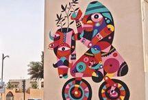 Street Art / graffiti, street art, outdoor art, cool art