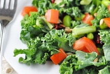 Savory Salads / A meal is not a meal for me unless I have lots and lots of vegetables.  I love the taste of raw vegetables.   / by Margaret Norman