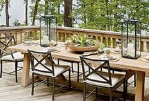 Outdoor Ideas / furniture/landscaping/gardening/entertaining ideas / by ★☆TSW☆★