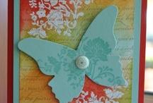 (AB)   Cards~ Butterflies # 1