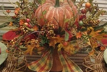 Fall and Thanksgiving decor ideas / by Susan Barbry