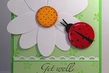 (AF)  Cards ~ Flowers # 1 / by Glenda Jae
